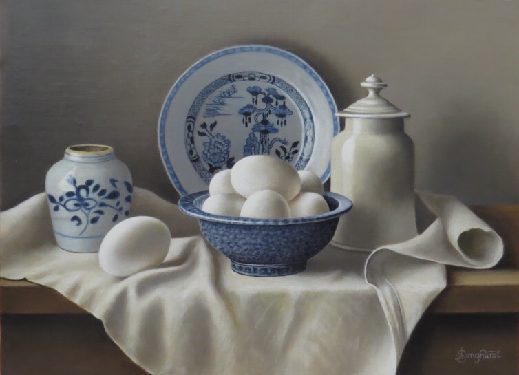 Harrison Bowl  and Eggs by Anne Songhurst